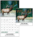Wildlife Portraits Spiral Wall Calendars